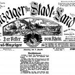 1899: Gründungsversammlung