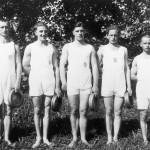 1928: Mannschaftsfoto Trommelball
