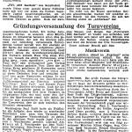 1950: Lahrer Zeitung - Reges Vereinsleben in Seelbach