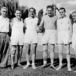 1955: Mannschaftsfoto AH Faustballer